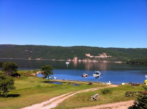 View from our Cape Breton cottage rentals