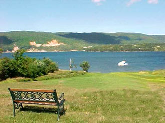 View from our Cape Breton cottages